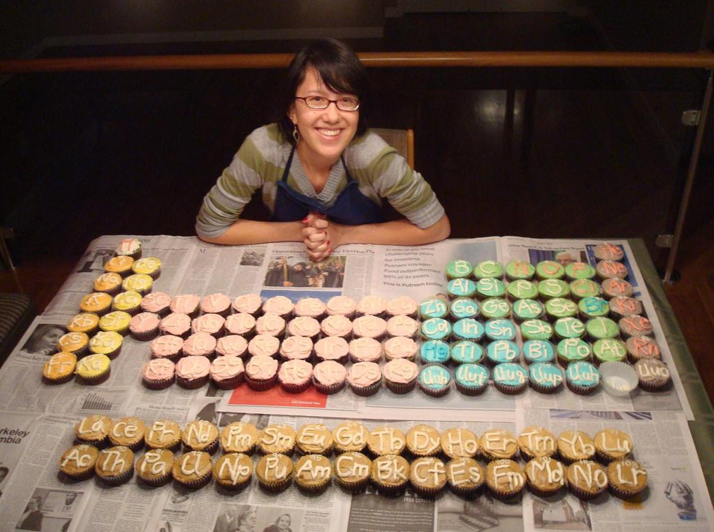 cupcake periodic table